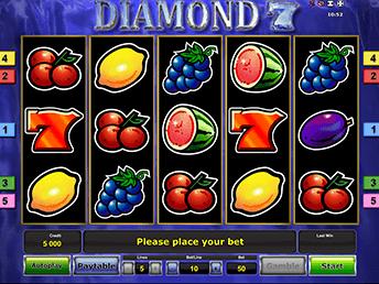 Отзывы о Diamond 7 в казино Х