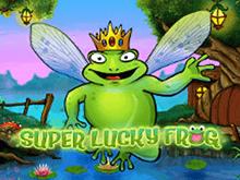 Онлайн-автомат в денежки Удачливая Лягушка